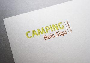 Vectorisation logo camping